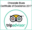 Chocolate blues certificate of excellence