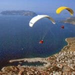 Paragliding in Kas