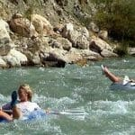 Rafting in Saklikent Gorge