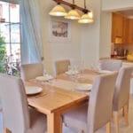 Dining room at Villa Acacia
