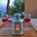 Evening at Villa Acacia