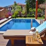 Villa Acacia pool and terrace