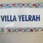 Villa Yelrah- Name plate